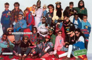 tutti colori dell mondo Benetton campaign