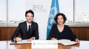 LVMH collaborates with UNESCO